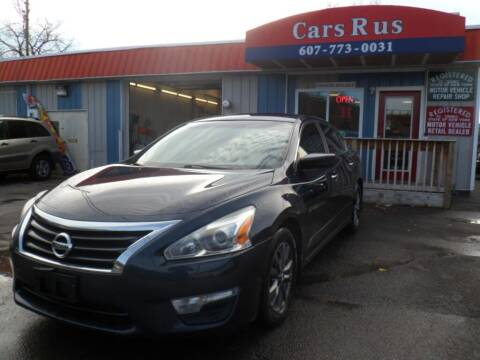 2015 Nissan Altima for sale at Cars R Us in Binghamton NY