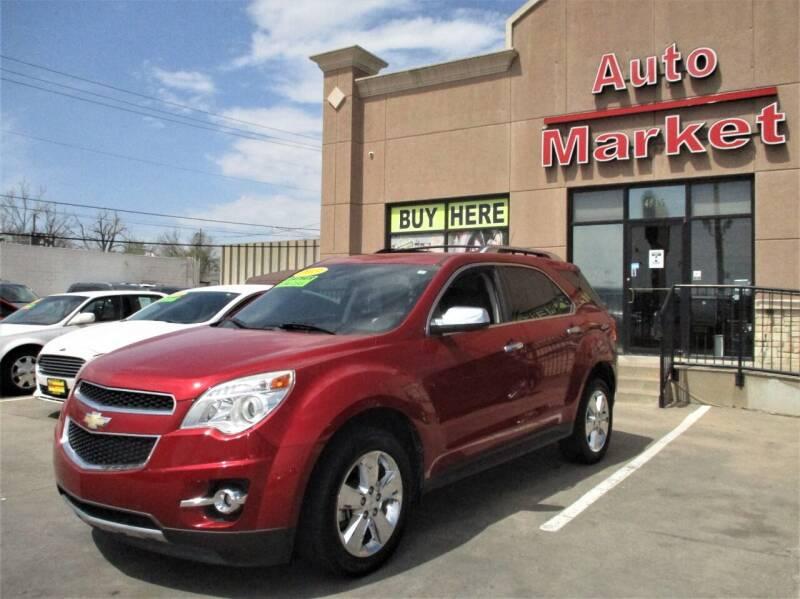 2013 Chevrolet Equinox for sale at Auto Market in Oklahoma City OK