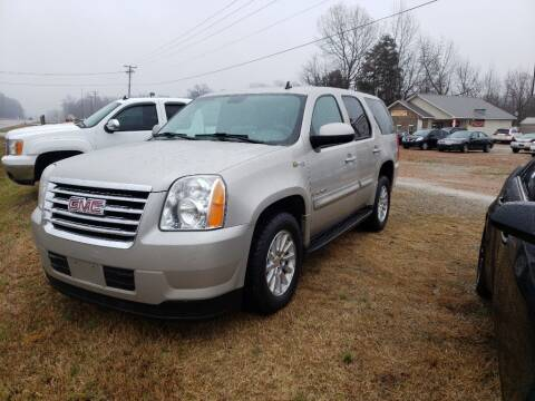 2008 GMC Yukon for sale at Scarletts Cars in Camden TN