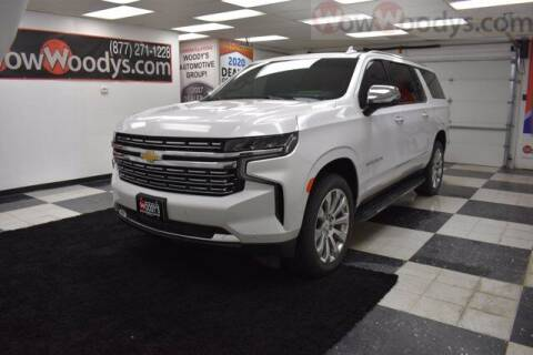 2021 Chevrolet Suburban for sale at WOODY'S AUTOMOTIVE GROUP in Chillicothe MO