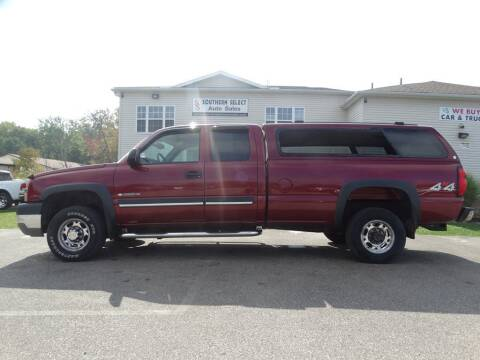 2004 Chevrolet Silverado 2500HD for sale at SOUTHERN SELECT AUTO SALES in Medina OH