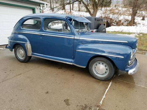 1948 Ford Super Deluxe for sale at J & J Auto Sales in Sioux City IA