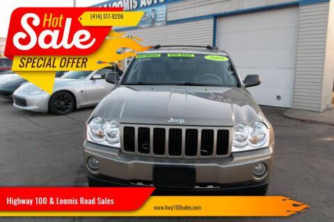 2005 Jeep Grand Cherokee for sale at Highway 100 & Loomis Road Sales in Franklin WI