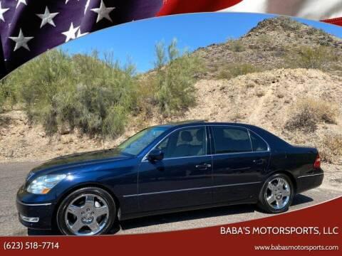 2006 Lexus LS 430 for sale at Baba's Motorsports, LLC in Phoenix AZ
