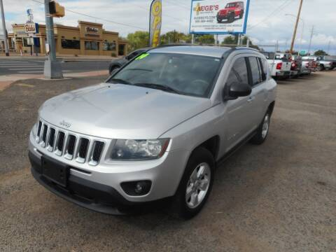 2014 Jeep Compass for sale at AUGE'S SALES AND SERVICE in Belen NM