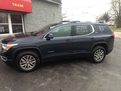2017 GMC Acadia for sale at Economy Motors in Muncie IN