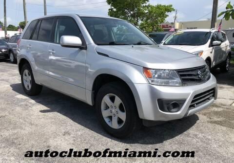 2013 Suzuki Grand Vitara for sale at AUTO CLUB OF MIAMI in Miami FL