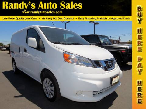 2019 Nissan NV200 for sale at Randy's Auto Sales in Ontario CA