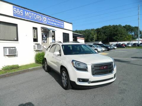 2014 GMC Acadia for sale at S & S Motors in Marietta GA