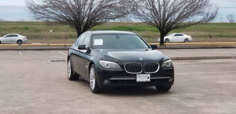 2010 BMW 7 Series for sale at America's Auto Financial in Houston TX