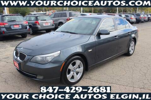 2008 BMW 5 Series for sale at Your Choice Autos - Elgin in Elgin IL