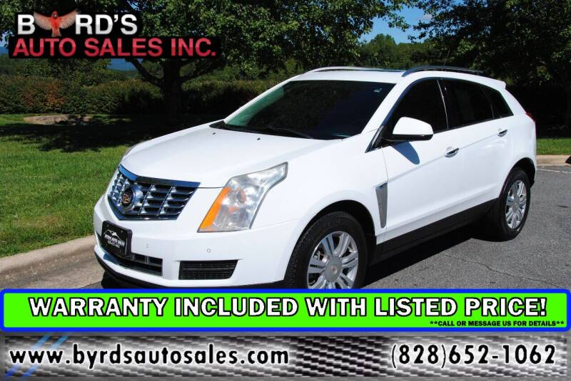 2015 Cadillac SRX for sale at Byrds Auto Sales in Marion NC