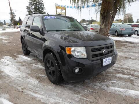 2010 Ford Escape for sale at VALLEY MOTORS in Kalispell MT
