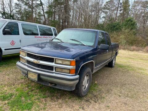 1996 Chevrolet C/K 1500 Series for sale at Southtown Auto Sales in Whiteville NC