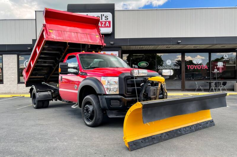 2012 Ford F-550 Super Duty for sale at Michaels Auto Plaza in East Greenbush NY