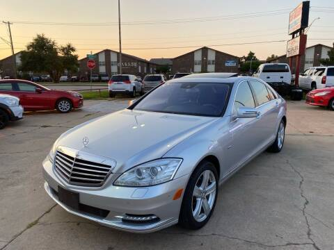 2012 Mercedes-Benz S-Class for sale at Car Gallery in Oklahoma City OK