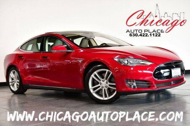 2015 Tesla Model S for sale at Chicago Auto Place in Bensenville IL