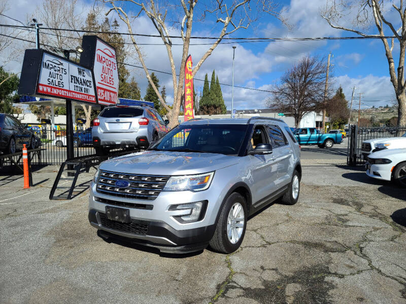 2017 Ford Explorer for sale at Imports Auto Sales & Service in San Leandro CA