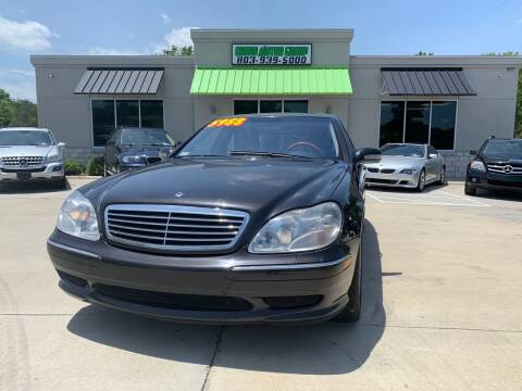 2002 Mercedes-Benz S-Class for sale at Cross Motor Group in Rock Hill SC