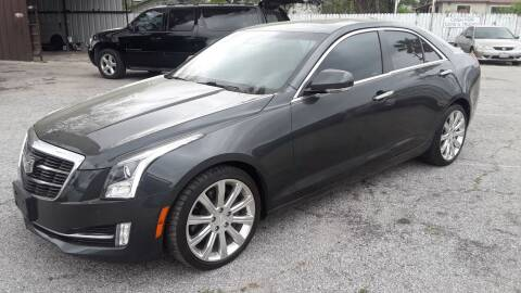2016 Cadillac ATS for sale at RICKY'S AUTOPLEX in San Antonio TX