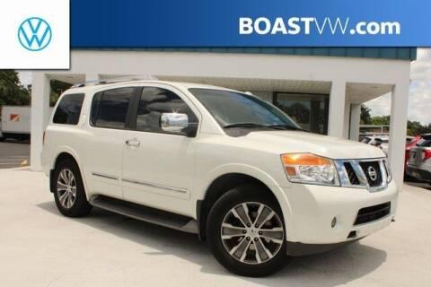 2015 Nissan Armada for sale at BOAST MOTORCARS in Bradenton FL