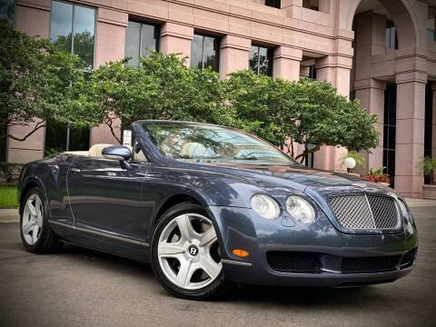 2007 Bentley Continental for sale at FALCON MOTOR GROUP in Orlando FL