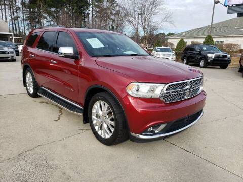 2014 Dodge Durango for sale at Smithfield Auto Center LLC in Smithfield NC