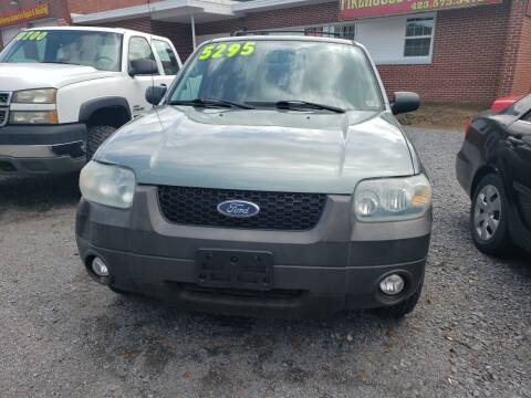 2007 Ford Escape for sale at Firehouse Motors LLC in Bristol TN