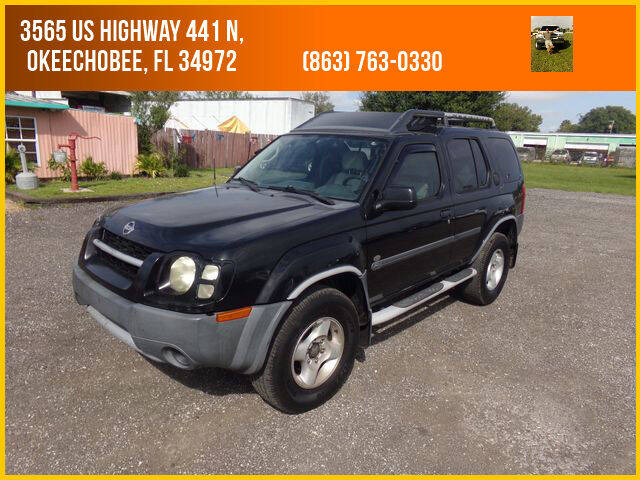 2003 Nissan Xterra for sale at M & M AUTO BROKERS INC in Okeechobee FL