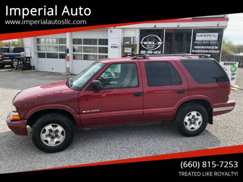 2002 Chevrolet Blazer for sale at Imperial Auto of Marshall in Marshall MO