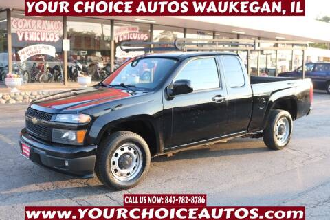 2012 Chevrolet Colorado for sale at Your Choice Autos - Waukegan in Waukegan IL