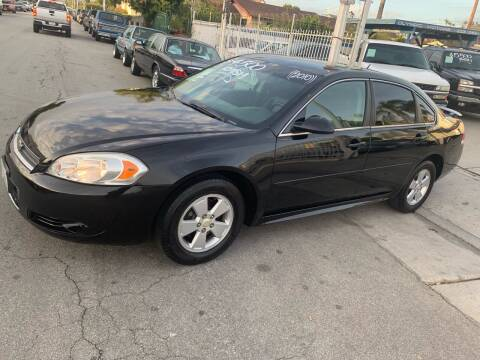 2010 Chevrolet Impala for sale at Olympic Motors in Los Angeles CA