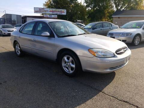 2003 Ford Taurus for sale at Dave Ducharme's Auto Sales in Lowell MA