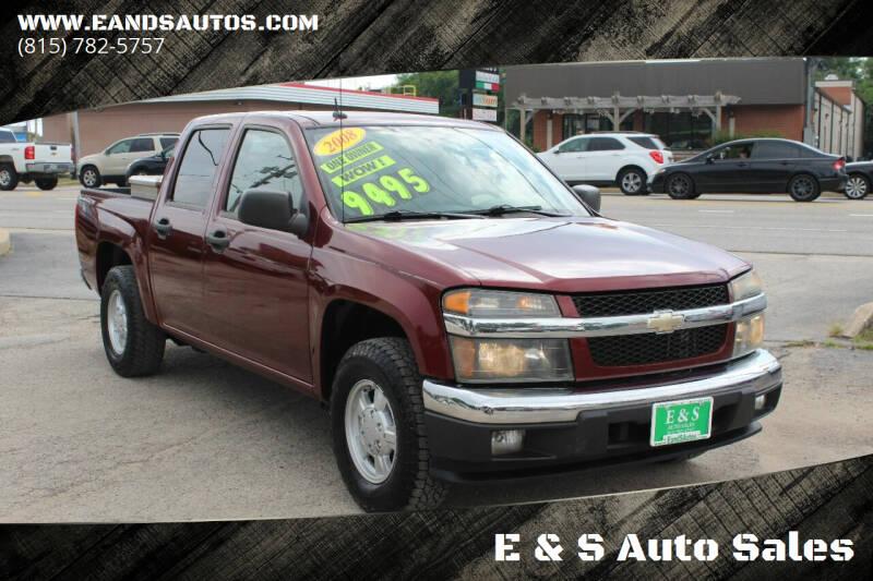 2008 Chevrolet Colorado for sale at E & S Auto Sales in Crest Hill IL