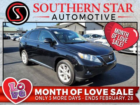 2011 Lexus RX 350 for sale at Southern Star Automotive, Inc. in Duluth GA