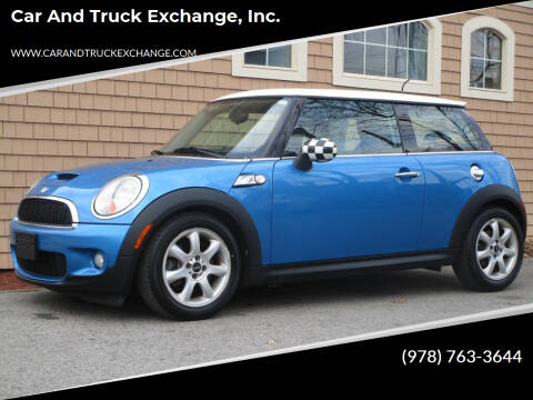 2008 MINI Cooper for sale at Car and Truck Exchange, Inc. in Rowley MA