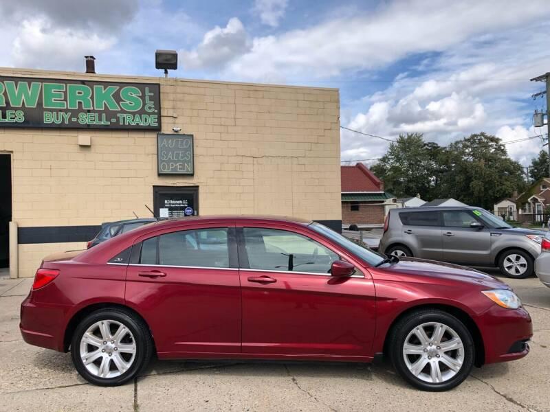 2013 Chrysler 200 for sale at MLD Motorwerks Pre-Owned Auto Sales - MLD Motorwerks, LLC in Eastpointe MI