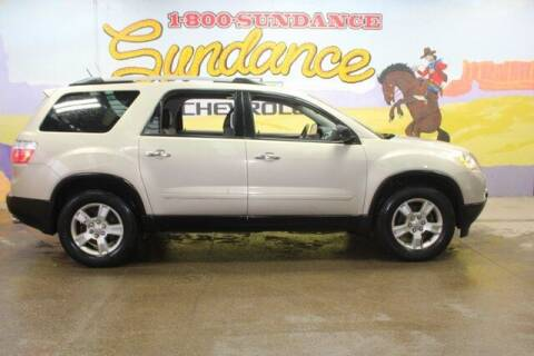 2012 GMC Acadia for sale at Sundance Chevrolet in Grand Ledge MI