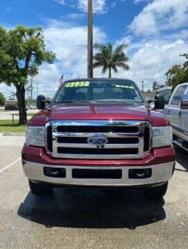 2004 Ford F-250 Super Duty for sale at DAN'S DEALS ON WHEELS in Davie FL