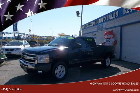 2010 Chevrolet Silverado 1500 for sale at Highway 100 & Loomis Road Sales in Franklin WI