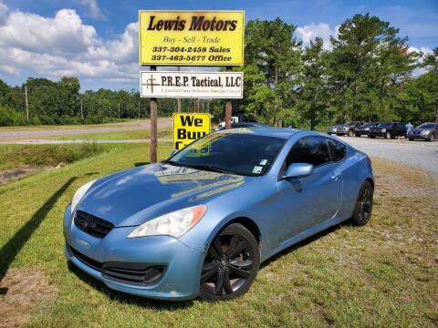 2011 Hyundai Genesis Coupe for sale at Lewis Motors LLC in Deridder LA
