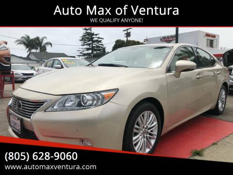 2013 Lexus ES 350 for sale at Auto Max of Ventura in Ventura CA