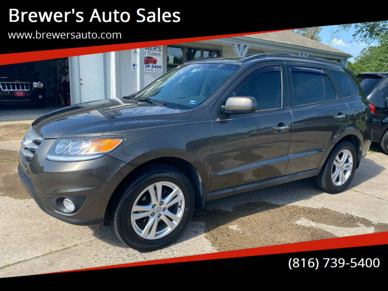 2012 Hyundai Santa Fe for sale at Brewer's Auto Sales in Greenwood MO