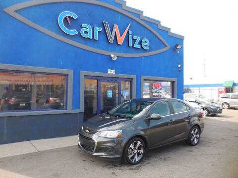 2020 Chevrolet Sonic for sale at Carwize in Detroit MI