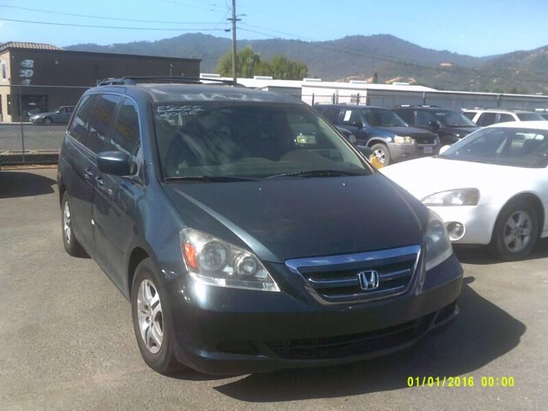 2006 Honda Odyssey for sale at Mendocino Auto Auction in Ukiah CA