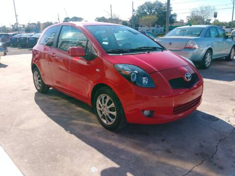 2008 Toyota Yaris for sale at QUALITY AUTO SALES OF FLORIDA in New Port Richey FL