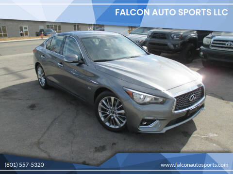 2019 Infiniti Q50 for sale at Falcon Auto Sports LLC in Murray UT