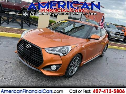 2016 Hyundai Veloster for sale at American Financial Cars in Orlando FL