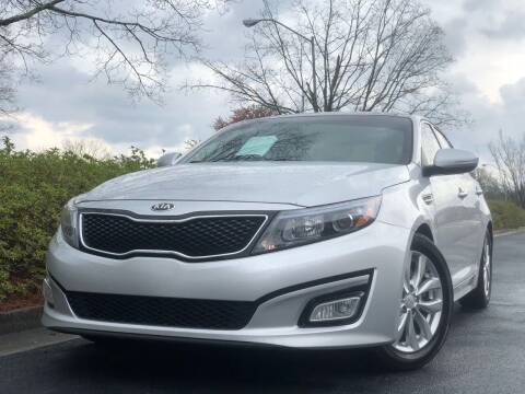 2015 Kia Optima for sale at William D Auto Sales in Norcross GA