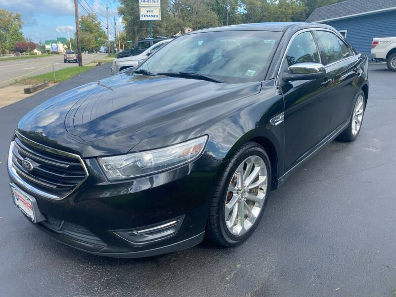 2013 Ford Taurus for sale at Erie Shores Car Connection in Ashtabula OH